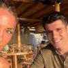 coppia morata-campello al ristorante