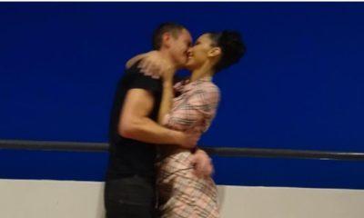 Bella Hadid ed il bacio al suo fidanzato