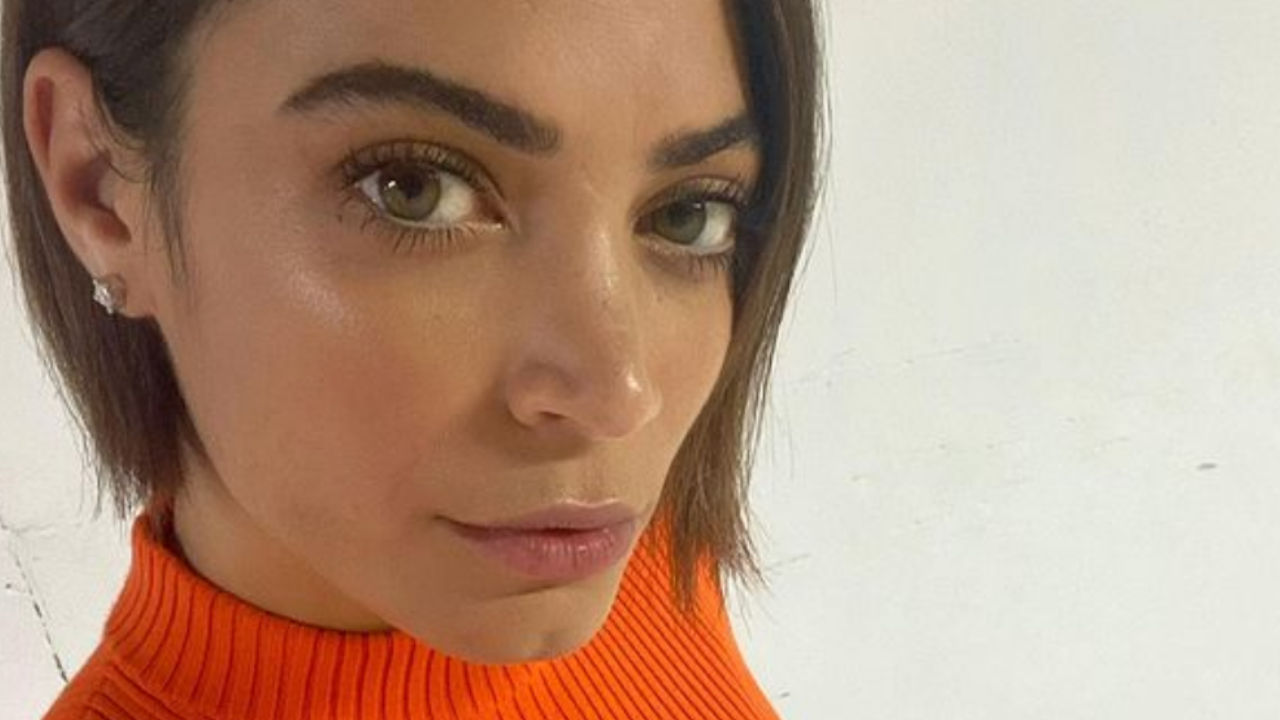 elodie maglioncino arancione