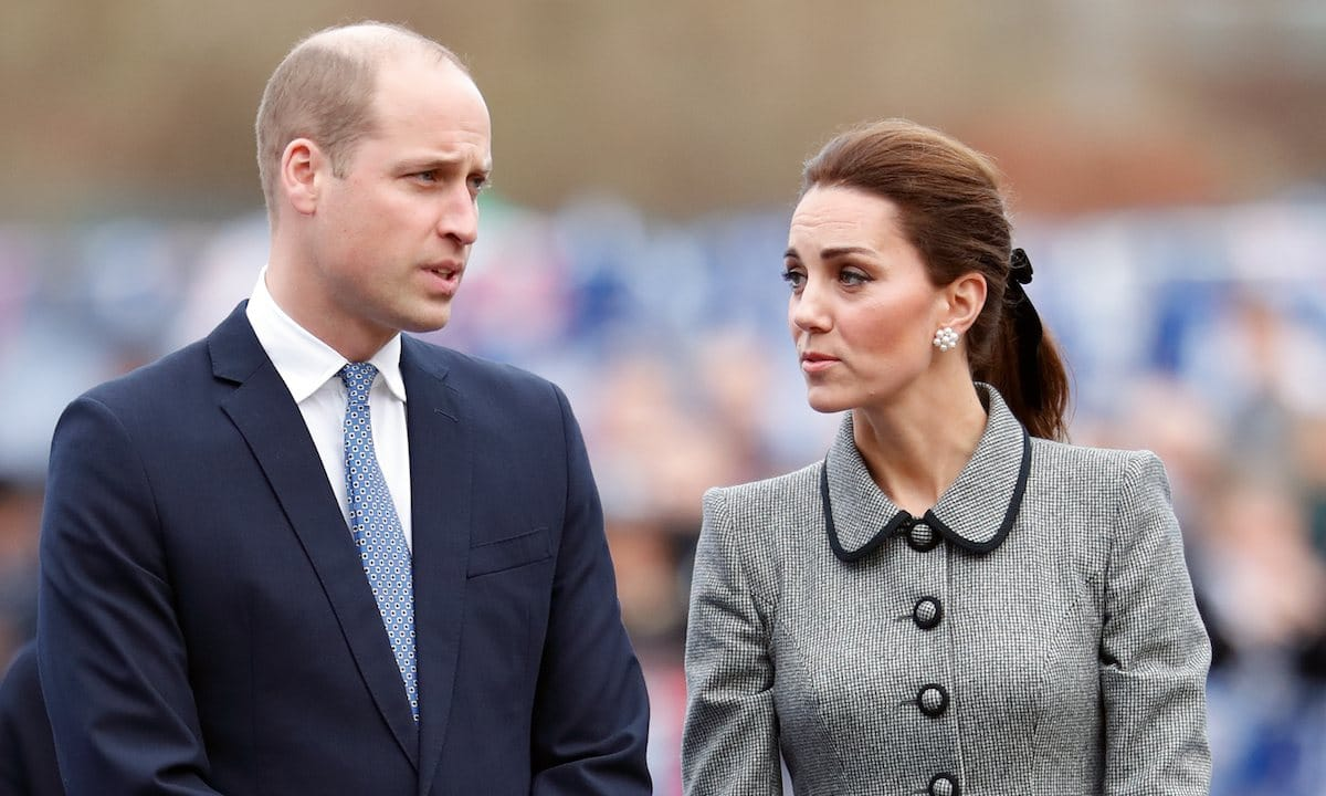 William e Kate a Wembley