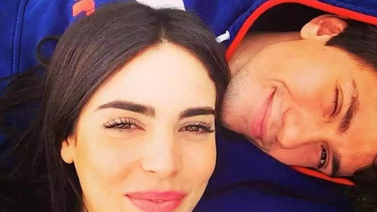 luigi berlusconi, selfie con la moglie federica