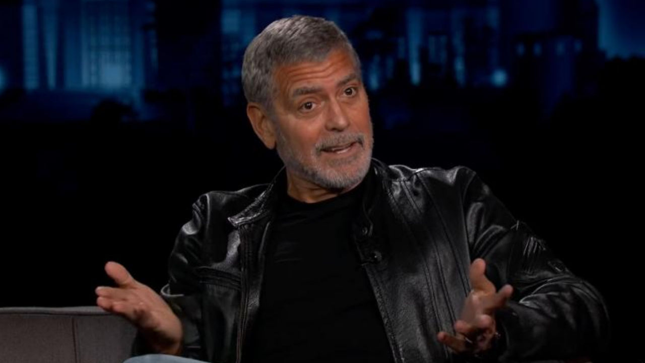 george clooney in televisione