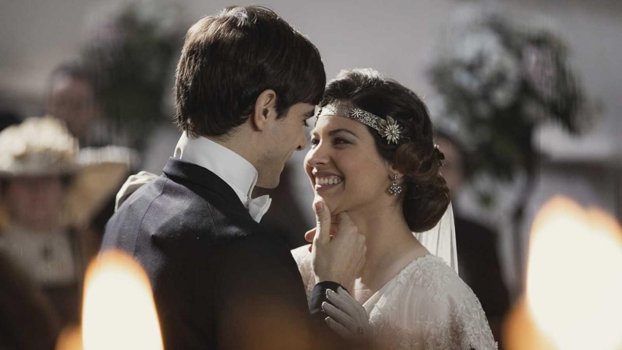 una vita, cinta ed emilio si sposano