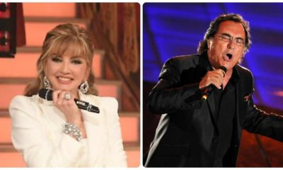 collage albano milly carlucci
