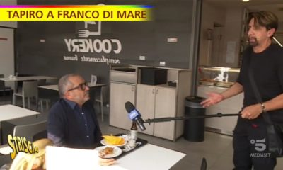 Altro Tapiro recapitato a Franco Di Mare