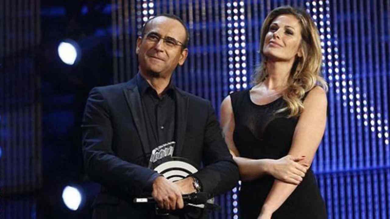 carlo conti Vanessa Incontrada music awards