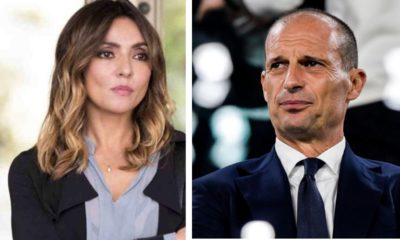 Ambra Angiolini e Massimiliano Allegri