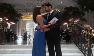 Raimondo Todaro e Francesca Tocca abbraccio