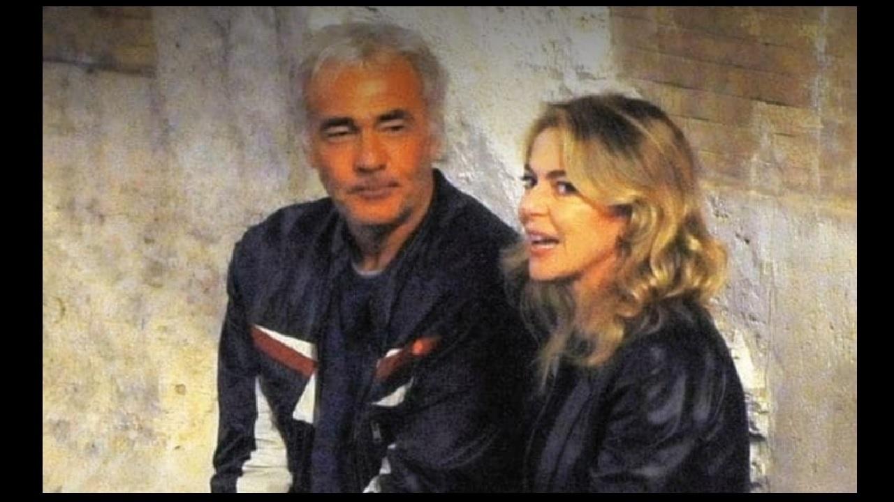 Massimo Giletti e Claudia Gerini insieme a Roma
