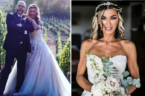 Lucia Pavan, nozze